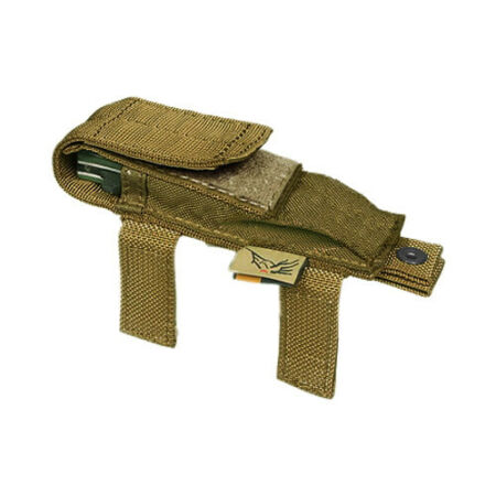 img-FLYYE TACTICAL KNIFE POUCH MOLLE SYSTEM MILITARY POCKET AIRSOFT COYOTE BROWN TAN