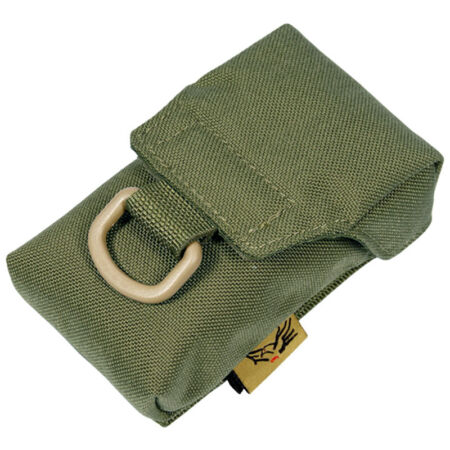 img-FLYYE TACTICAL iCOMM POUCH iPHONE CAMERA COVER MOLLE SYSTEM CORDURA RANGER GREEN