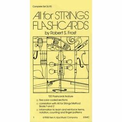 All For Strings - Theory Workbook 1 Flashcards by Gerald E Anderson and Robert S