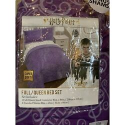 Kyпить HARRY POTTER 3-pc Full/Queen WHIMSICAL Comforter Set Purple на еВаy.соm