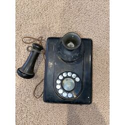 Kyпить Antique Automatic Electric Dial Telephone Wall Phone на еВаy.соm