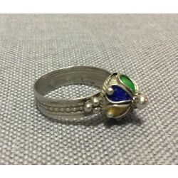 Kyпить Jewelry Berber Silver Ring And Enamels Piece Antique на еВаy.соm