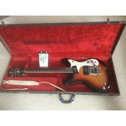 Kyпить Mosrite ventures mark 1 1964 bakersfield ohsc USA and original fuzzrite  pedal  на еВаy.соm