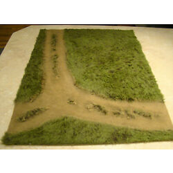 Kyпить Build-a-Rama Bar-258 Fork in the Road 24 X 30 Diorama Mat 1:30 First Legion etc. на еВаy.соm