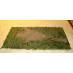 Kyпить Build-A-Rama Bar-207 Camp Clearing Diorama Mat 12 X 24 1:30 First Legion etc. на еВаy.соm