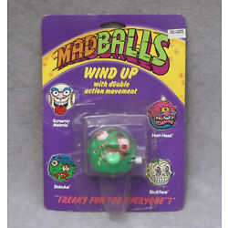 Kyпить 1986 MADBALLS Wind-Up Action Figure Monster WU Toy