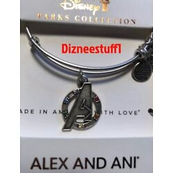 Kyпить Disney ALEX AND ANI Avengers Marvel Collection Bracelet Silver на еВаy.соm