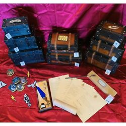 Kyпить Hogwarts Trunk Wooden, 2, 5 Or 7 W/Themed Contents, Harry Potter,ALMOST SOLD OUT на еВаy.соm