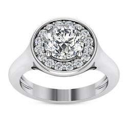 Kyпить Halo Vintage 1.00 Carat Round Cut Diamond Engagement Ring White Gold VS1 H на еВаy.соm