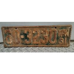 Kyпить Vintage Antique Kansas KS Vehicle License Plate 1931 Green Original Tag  на еВаy.соm