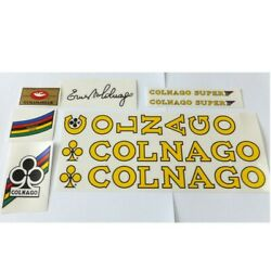 Colnago mid 70s Super or Mexico decal set choices vintage