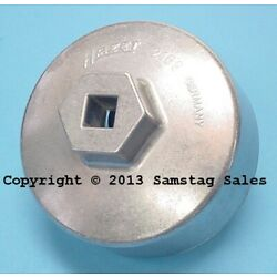 HAZET Germany 2169 Oil Filter Wrench 74.4mm 14 point Mercedes