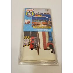 THOMAS THE TRAIN AND FRIENDS APPLIQUES PEEL AND STICK REMOVABLE    NEW!!!