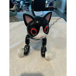 Kyпить Zoomer Kitty Black Robot Cat 6024413 Interactive Toy Tested Working на еВаy.соm
