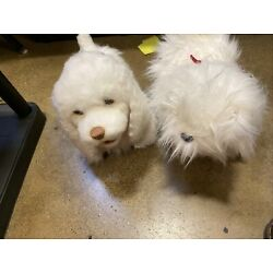 Kyпить Two furreal friends dogs, gogo puddle, white, working, excellent used condition на еВаy.соm