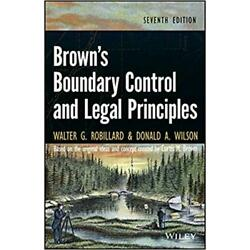 Kyпить Brown's Boundary Control and Legal Principles 7th Edition Walter G. на еВаy.соm