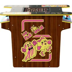 Kyпить Arcade1Up Ms. Pac-man 8 Games in 1 Full Size Cocktail Table Open Box MO1009 на еВаy.соm