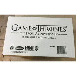 Kyпить Game of Thrones Iron Anniversary Series One Hobby Case 10x Boxes Factory Sealed на еВаy.соm