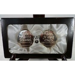 Kyпить Keepsake of Baby's First Tooth and Curl Bombay Co 2 Silvertone Containers in Box на еВаy.соm