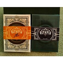 Kyпить Olympia and Olympia Underworld Playing Cards Signed by Steve Minty Rare ???? на еВаy.соm