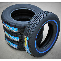 4 Tires Tornel Classic 155/80R13 79S White Wall A/S All Season