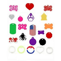 Custom   Engraved   Personalized   Dog   Cat   Pet ID Tags  MADE IN THE USA!