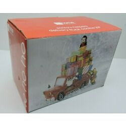 Santa Shop Helpers Delivery Truck Cookie Jar By JC Penney Brand New