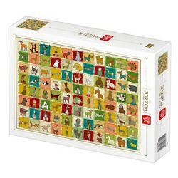 D-Toys 1000 Piece Jigsaw Puzzle - Patterns: Dogs (ETA 28th July)