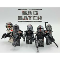 Star Wars NEW Armored The Bad Batch Clone Force 99 5pcs Set