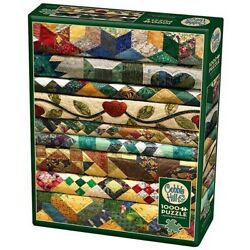 Cobble Hill 1000 Piece Jigsaw Puzzle - Grandma's Quilts
