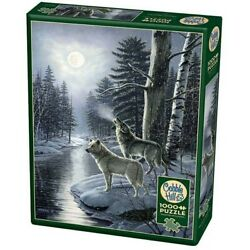 Cobble Hill 1000 Piece Jigsaw Puzzle - Wolves By Moonlight