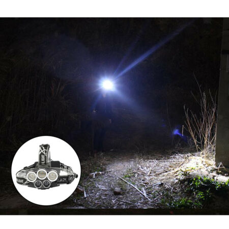img-5 LED headlights outdoor headlights torch 3000 lumens 200 meters LED
