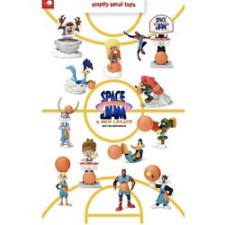 McDonald's 2021 SPACE JAM Complete set of 12 Toys FREE SHIPPING