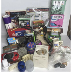 Huge Junk Drawer Lot 50 Assorted Collectibles Vintage & Misc Items Over 10 Lbs