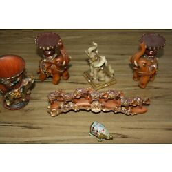Elephant Resin Ornaments Vintage Collection