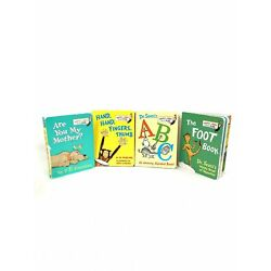 Dr Seuss Lot Of 4 1960 To 1968 Bright And Early Mini Hard Back Books 84-1058