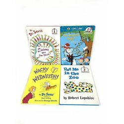 Dr Seuss Vintage 1970's & Up I Can Read All By Myself Beginners Lot Of 4 Hard