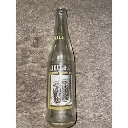 JULEP 10 oz. ACL Soda Picture Bottle, Yellow & White Label