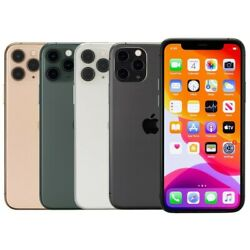 Apple iPhone 11 Pro Max 64GB GSM Unlocked AT&T T-Mobile Very Good Condition