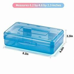 New A Large Capacity Pencil Boxesar Plastic Boxes with S Snap-tight