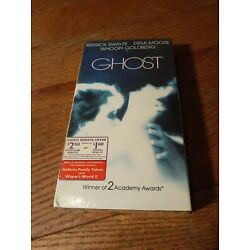 Ghost VHS Tape Brand New Factory Sealed