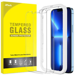 JETech Screen Protector for iPhone 13 Pro Max 6.7'' with Easy-Installation Tool