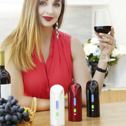 New Smart Electric Automatic Red Wine Pourer Aerator Decanter Dispenser Dear US
