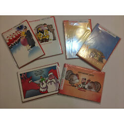 Athena International Christmas Holiday Cards Seven Packs - 5 Cards Each NEW