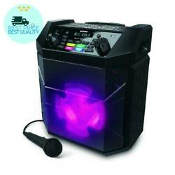 Ion Audio Party Boom FX High-Power Bluetooth-enabled Rechargeable Speaker with L
