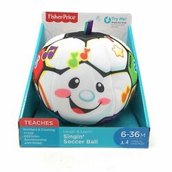 Fisher-Price BHJ28 Laugh & Learn Singin Soccer Ball  multi-colored