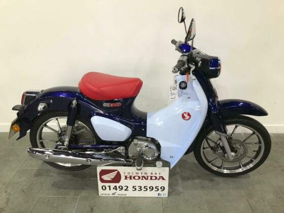 2019 Honda Supercub C125AK, Only 692 Miles, Iconic Scooter, Learner Legal 125cc