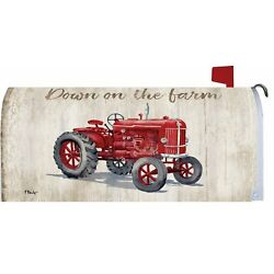 MAILBOX COVER - Down On The Farm - Standard Size - Custom Decor #4296 - Magnetic