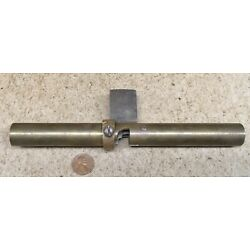 NEAT VINTAGE BRASS MOLDING CUTTER SHAVE