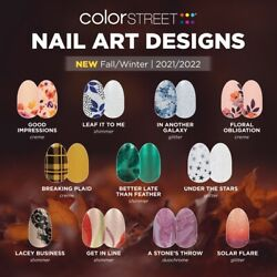 COLOR STREET NAIL STRIPS:????Fall, Halloween, & More... SALE????